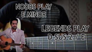 "Pani Da Rang Guitar Chords Tutorial   Learn The ""Actual"" Chords   Ayushman Khurana"