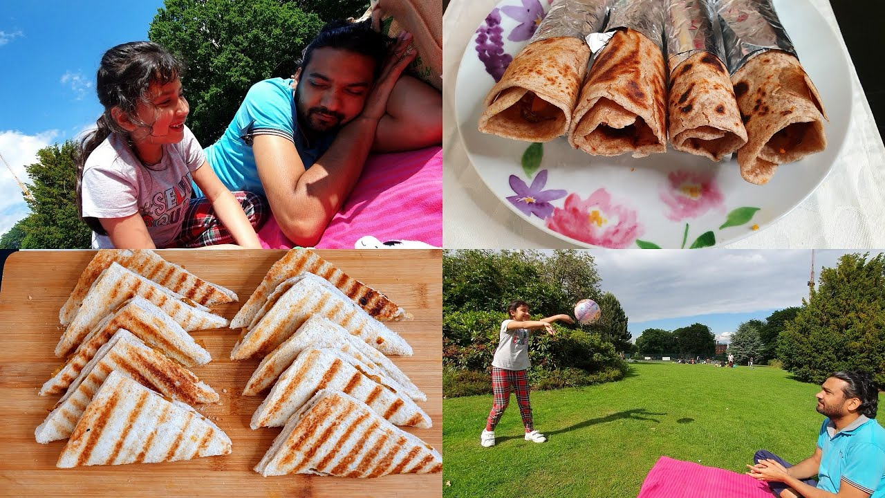 Weekend Fun Vlog | Simple and Quick dishes for Family day out in park for Picnic