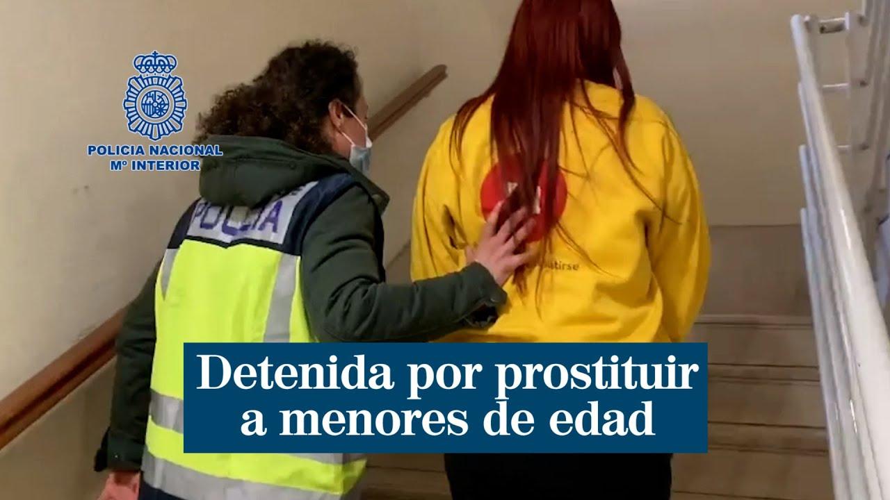 Detenida una joven de 19 años por prostituir a menores en apartamentos de alquiler de la capital