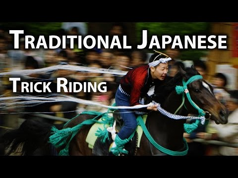 Kyoto Festival: Trick Riding Festival at Fujinomori Shrine (Kakeuma Shinji)