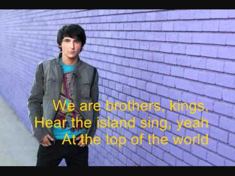 Top of the world - Pair of kings  lyrics