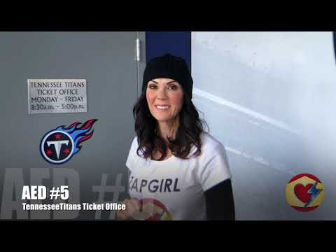 ZapgirlTV - All Access Tour of Nissan Stadium, Home of the Tennessee Titans