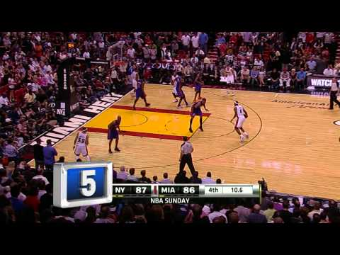 NY Knicks Top 10 Plays of 2010-11