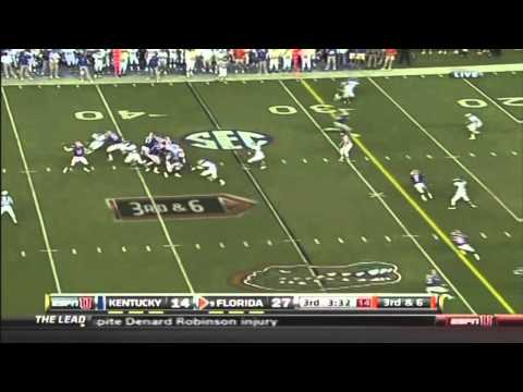 Florida-Kentucky 2010 Highlights: Burton's 6 TD's