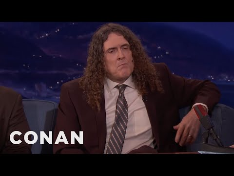 "How ""Weird Al"" Yankovic Came Up With ""Fat""  - CONAN on TBS"