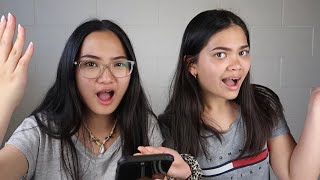 REACTING TO HATE COMMENTS ft. best friend