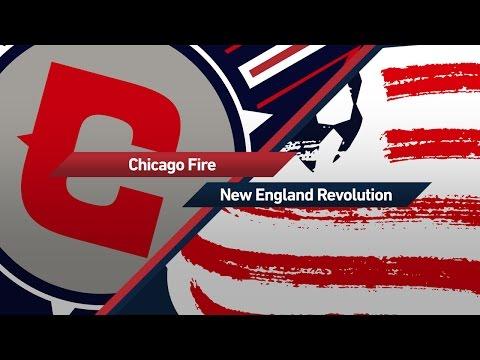 HIGHLIGHTS | Chicago Fire vs. New England Revolution | April 15, 2017