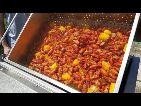100% Louisiana Style Crawfish Boil Done Right With Texas Star Outdoors Seafood Boiler!  🔥🔥🔥🦐🦐🦐 2020