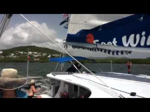 Snorkeling Trip On Catamaran From Fajardo Puerto Rico Youtube