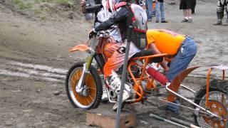 AMA Pro Hillclimb Triumph T140 Nitro methane