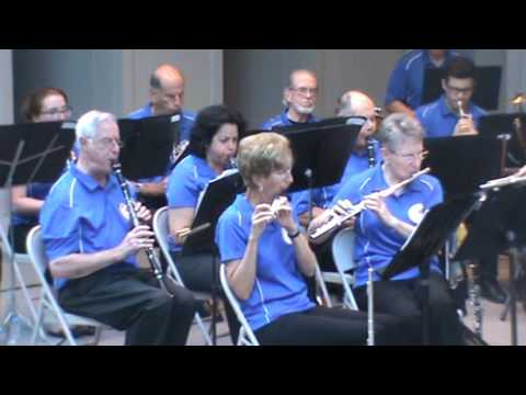 National Concert Band of America 7-9-2017 Mason District Park Amphitheater Annandale, VA. FULL SHOW