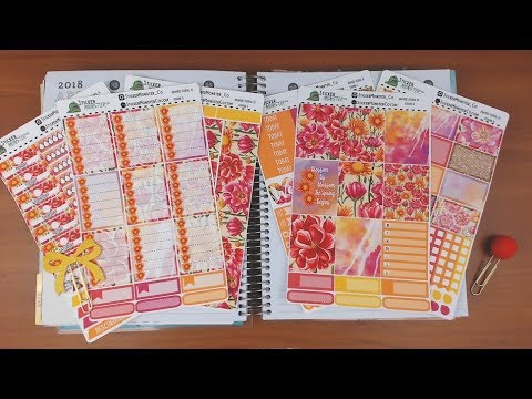 Recollections Plan with Me April 23-29 featuring StickerMonsterCo