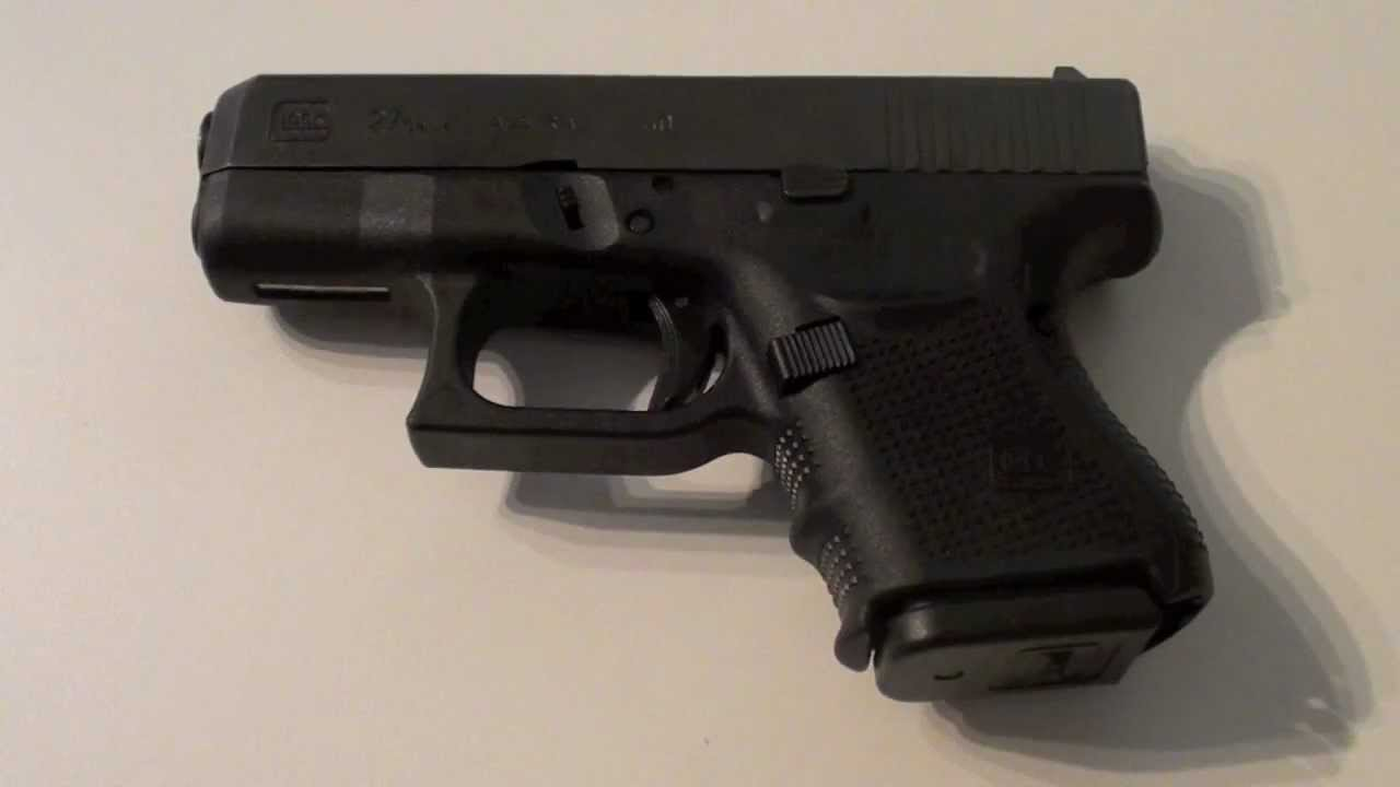 Glock 27 Gen 4 40 S W Load Unload Field Strip Shoot Youtube