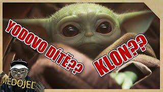 Kdo je malej Yoda?   Star Wars TEORIE