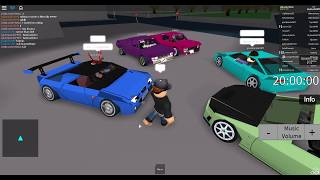 Chilling in roblox SRU (Street Racing Unleashed:The Reborn Beta)