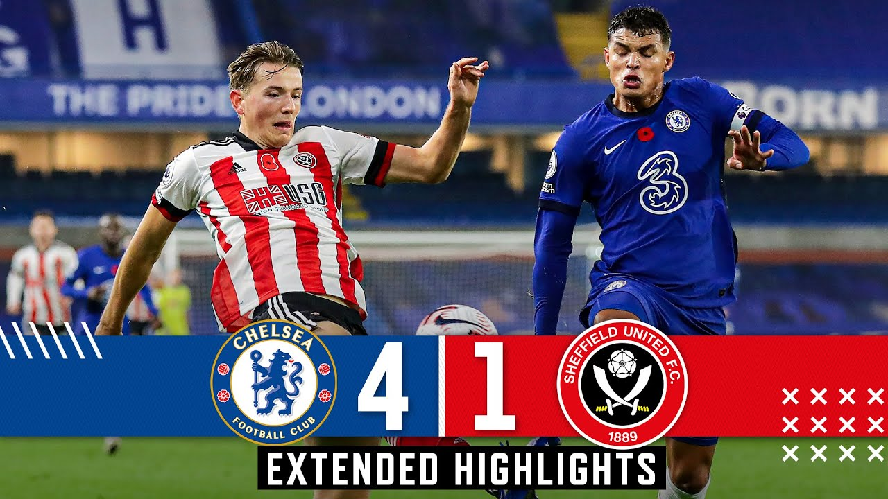 Download Chelsea 4-1 Sheffield United | Extended Premier League highlights | Silva, Ziyech & Werner.