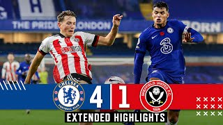 Chelsea 4-1 Sheffield United | Extended Premier League highlights | Silva, Ziyech & Werner.