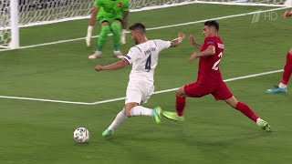 Сборная Италии победила Турцию в первом матче чемпионата Европы по футболу