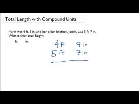 Total Length with Compound Units