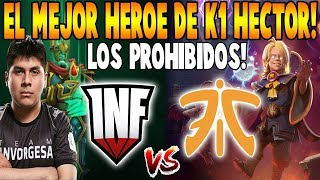 INFAMOUS vs FNATIC [Game 1] BO2 - El Mejor Héroe de K1 Hector - TI9 THE INTERNATIONAL 2019 DOTA 2