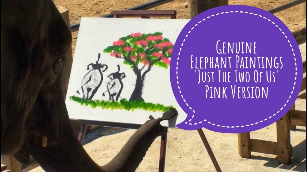 Elephants Painting: Genuine elephant Paintings