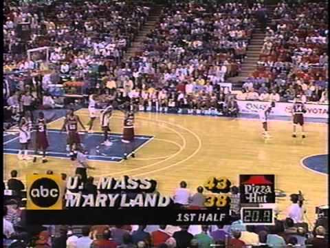 12/10/1994:  #5 Massachusetts Minutemen vs.  #11 Maryland Terrapins