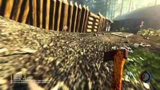 """Jugando a THE FOREST HD #09 - Mucha """"chicha"""" en poco tiempo. SIN vaselina ;)"""