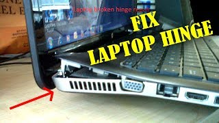 How to FIX LAPTOP HINGE in Just 10 Minutes - EASY TUTORIAL