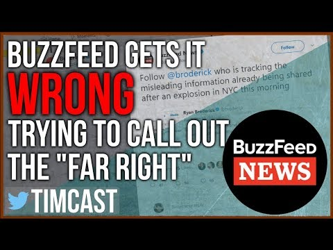 "BUZZFEED TRIED TO CALL OUT THE ""FAR RIGHT"" AND GOT IT WRONG"