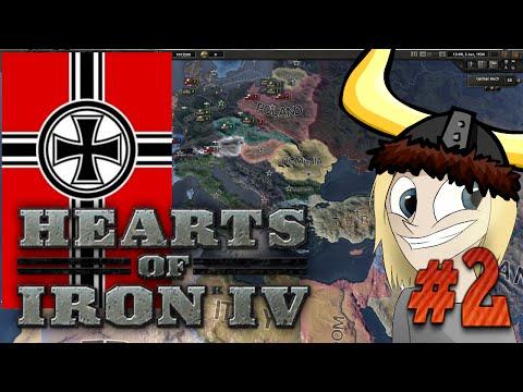 Hearts of Iron 4 - Franska Invasionen - Tyskland - #2 [Svenska]
