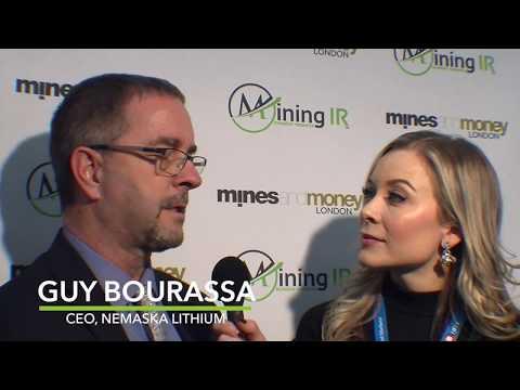 Nemaska Lithium at Mines & Money London