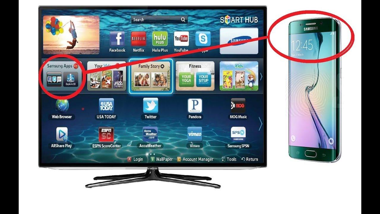 SCREEN MIRRORING ON SAMSUNG SMART TV TUTORIAL