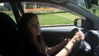 Урок вождения по городу. Автошкола