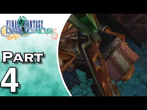 Let's Play Final Fantasy Crystal Chronicles (Gameplay + Walkthrough) Part 4 - Mine Of Cathuriges