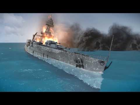 Sinking U.S.S & H.M.S Ships in Silent Hunter 5 |