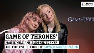 Game of Thrones S8: Are Sophie Turner and Maisie Williams happy with Arya and Sansa's ending?
