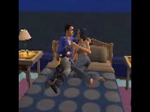 sims kissing games