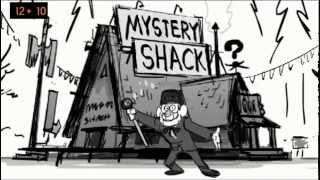 Repeat youtube video Gravity Falls Intro (Animatic)