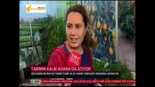 Adana Tarım Fuarı kapılarını açtı
