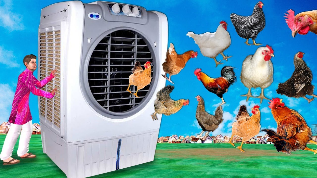 विशाल एयर कूलर Giant Air Cooler Comedy Video हिंदी कहानिय Hindi Kahaniya Funny Comedy Video