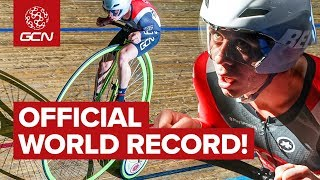 GCN's Guinness World (Penny Farthing) Hour Record!
