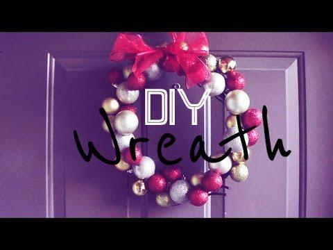 $5 DIY Christmas Wreath