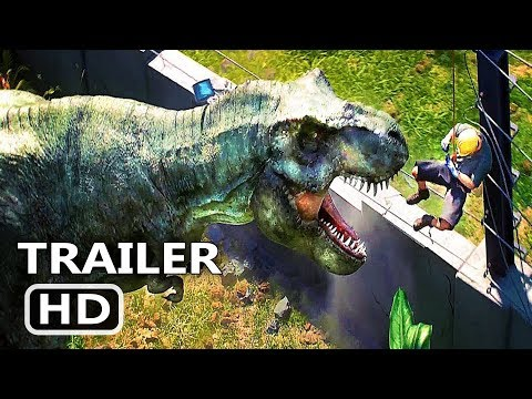 JURASSIC WORLD Evolution Video GAME Trailer (2018)