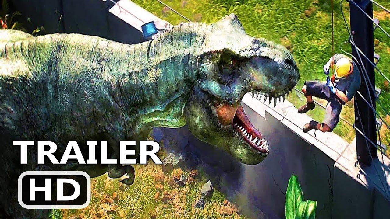 JURASSIC WORLD Evolution Video GAME Trailer (2018)