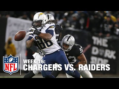 CRAZY PLAY: Raiders Force Fumble & Recover For 41-yard Run! | Chargers vs. Raiders | NFL