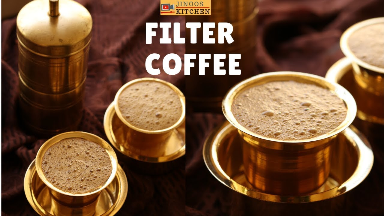 Filter Coffee Recipe L Degree Coffee L Authentic South