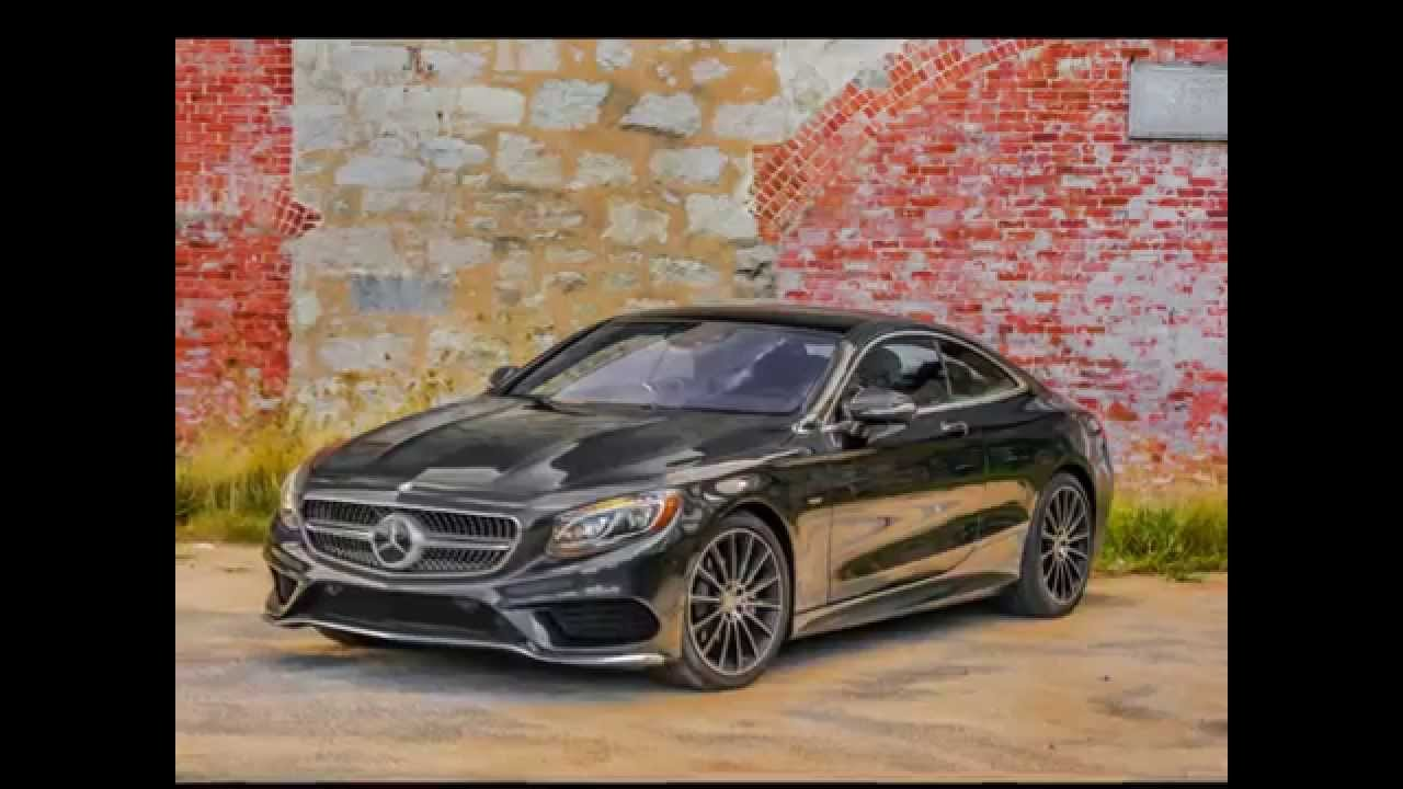 2017 Mercedes Benz S550 4matic Coupe