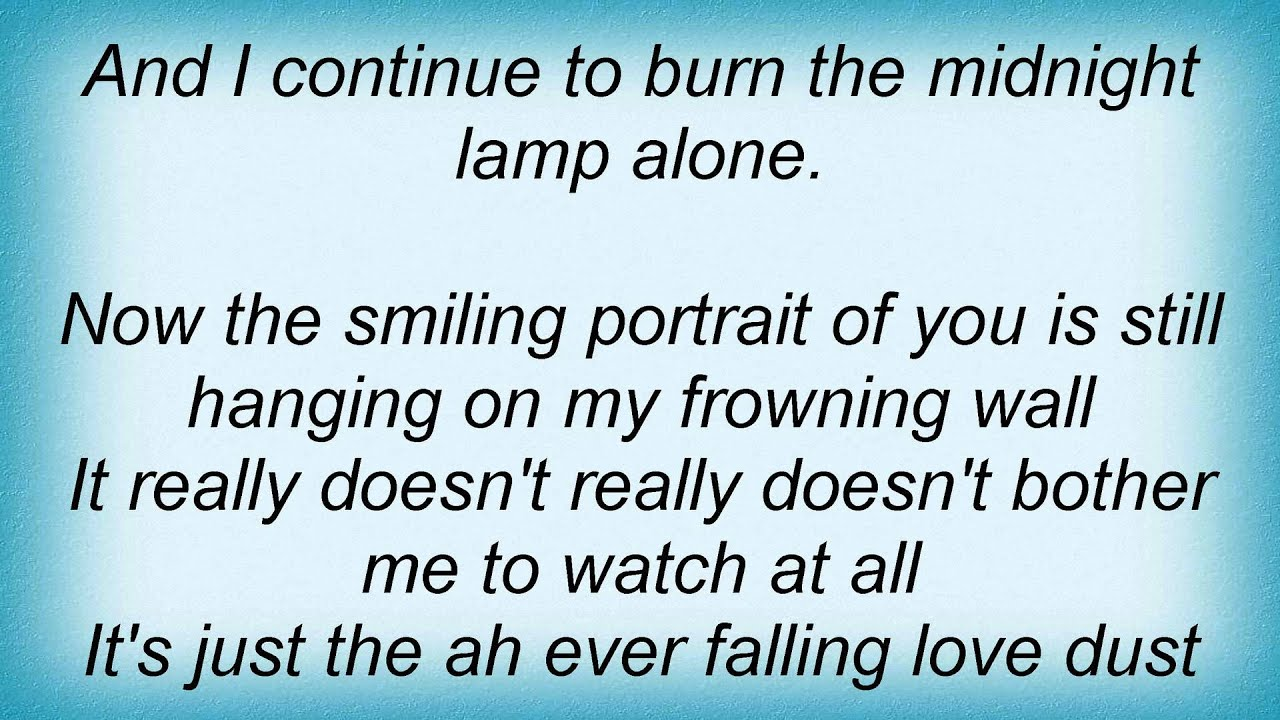 Living Colour - Burning Of The Midnight Lamp Lyrics - YouTube