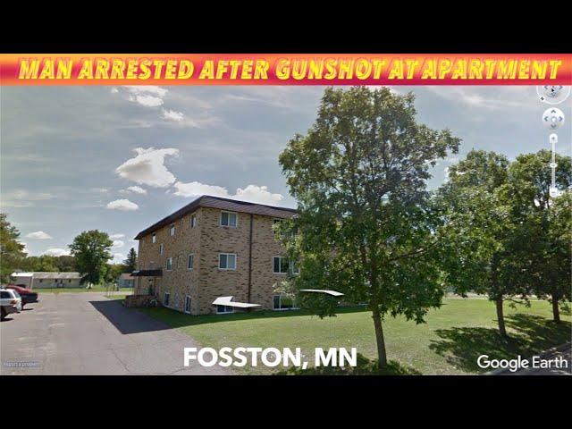 Man Arrested After Gunshot At Fosston, Minnesota Apartment Building
