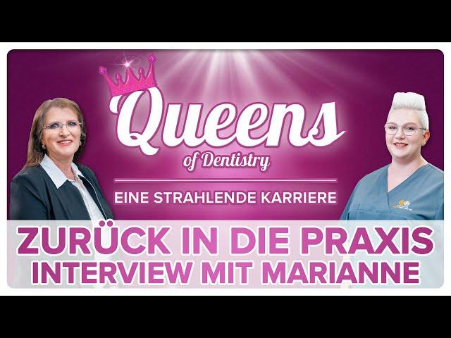Von der Selbstständigkeit zurück in die Zahnarztpraxis - Interview mit unserer Marianne! 🔥